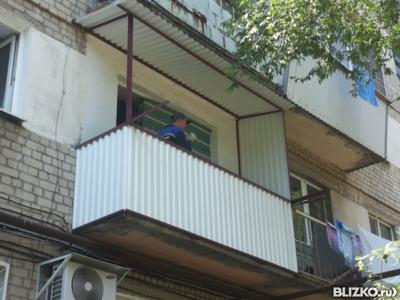 Ремонт ограждения балкона от компании балкон-сервис купить в.