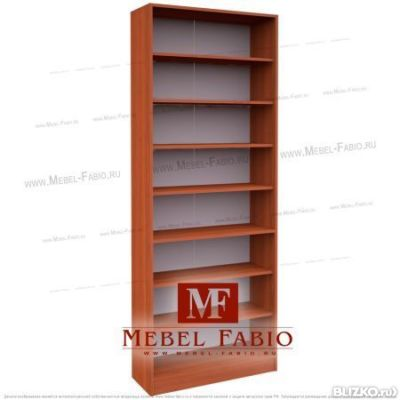 Шкаф библиотека шк-2/3 fabio - открытый - цвет яблоня в моск.