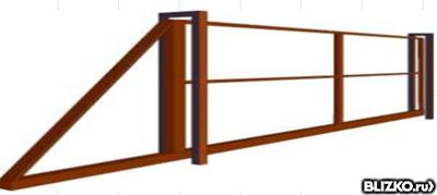 ворота откатные минск цена 5500 2500
