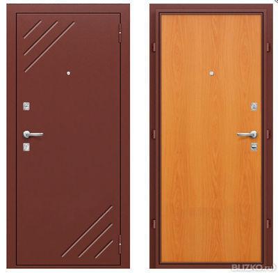 стальные однолистовые двери