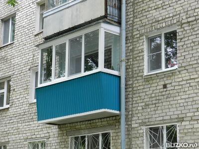 Остекление на балкон 3м. от компании вектор-а купить в город.
