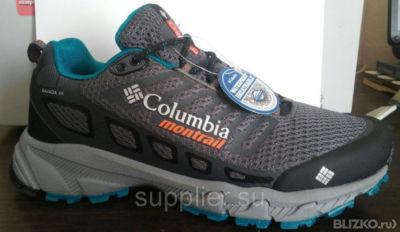 Кроссовки Columbia(Коламбия) Bajada 3, Размер  41-45, Цвет  Серый ... 2b1f778d9d3