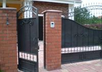 Ворота и калитки из нержавеющей стали