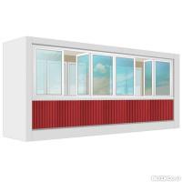Остекление балконов в тюмени цены остекление балкона в железнодорожном цены